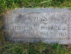 Lillie M <i>Mills</i> Moss