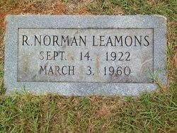 Robert Norman Leamons