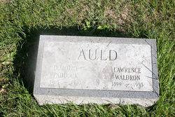 Dorothy <i>Paddock</i> Auld