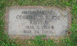 Corrine R <i>Borst</i> Krivda