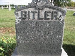 Annie E <i>Nevill</i> Bitler