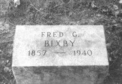 Frederick Gaines Fred Bixby