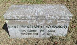 Mary Elizabeth <i>Vaughan</i> Boatwright