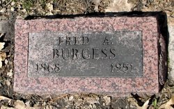 Fred A Burgess