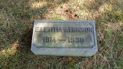 Elizabeth Letitia Atkinson