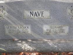 Letitia <i>Lacock</i> Nave