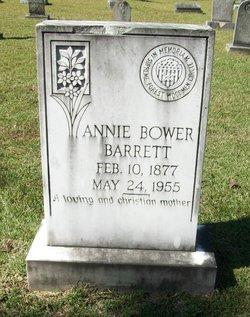 Annie Bower <i>Acker</i> Barrett