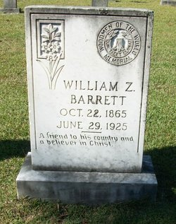 William Z Barrett
