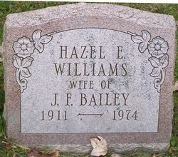 Hazel E <i>Williams</i> Bailey