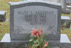Mazie S <i>Southall</i> Anderson