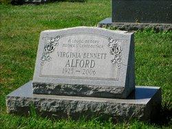 Virginia <i>Bennett</i> Alford