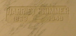 Harriet Primmer