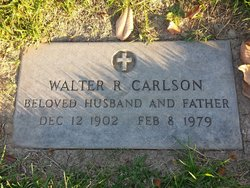 Walter R Carlson