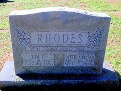 Thomas Clarence Tom Rhodes
