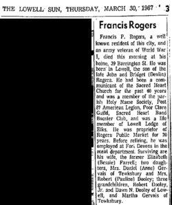 Francis P. Frank Rogers