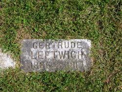 Gertrude Leftwich