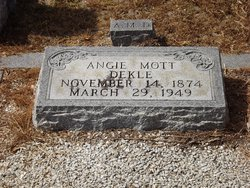 Angie <i>Mott</i> Dekle