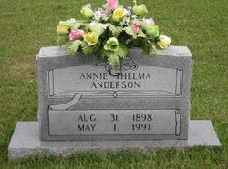 Annie Thelma <i>Wallis</i> Anderson