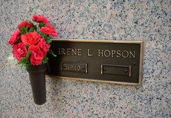 Irene <i>Lowe</i> Hopson