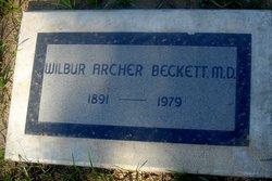 Dr Wilbur Archer Beckett