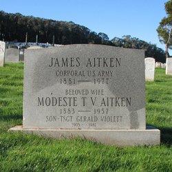 Modeste T V <i>Fardif</i> Aitken