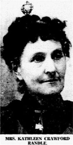 Kathleen Emma <i>Crawford</i> Randle
