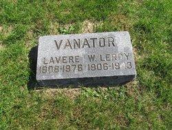 W. Leroy Vanator