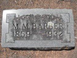 Martha McIver Mattie <i>Polk</i> Barber