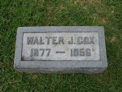 Walter J Cox