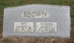 Minnie May <i>Hopkins</i> Brown