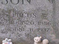 Lucus W Wilson