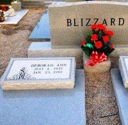 Deborah Ann Debbie <i>Brantley</i> Blizzard