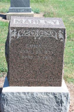 Mrs Emma J. <i>Whitney</i> Marley