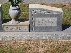 Lillie Mae <i>Upshaw</i> Braswell