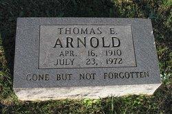 Thomas E Arnold