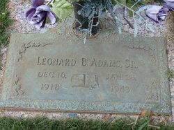 Leonard B. Adams, Sr