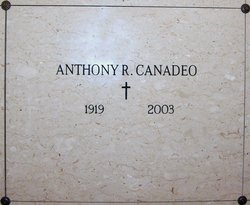 Anthony R. Tony Canadeo