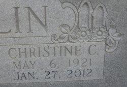 Christine C. <i>Edwards</i> Bolin