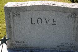 Edna Matilda <i>Weiss</i> Love