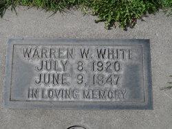 Warren Wesley White