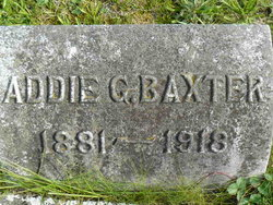 Addie Grace <i>Hibbert</i> Baxter