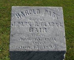 Harold Park Bair