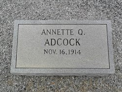 Annette <i>Queen</i> Adcock