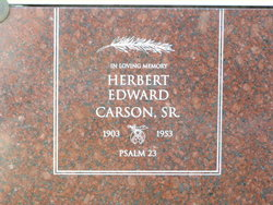 Herbert Edward Carson, Sr