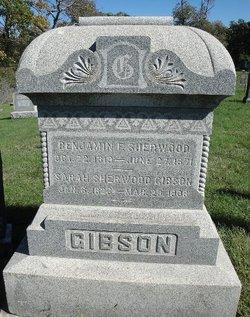 Sarah <i>Haywood Sherwood</i> Gibson