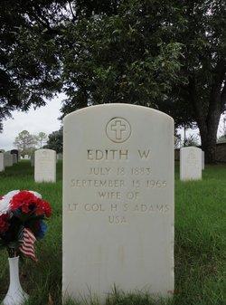 Edith <i>Wynne</i> Adams