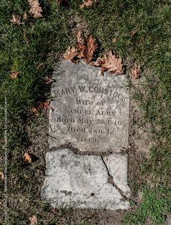 Mary Winsor <i>Comstock</i> Almy