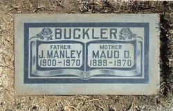 Maud <i>DeMoss</i> Buckler
