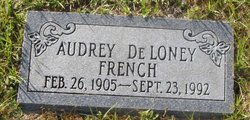 Audrey Deloney French