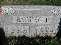 Ernest Franklin Baysinger